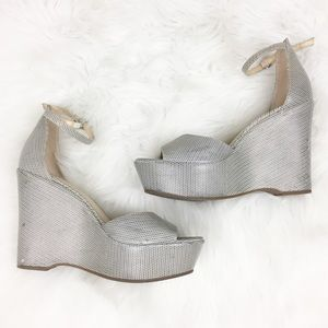 Vince Camuto | Chunky Strap Wedges